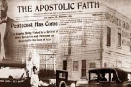 How did the Azusa Street Revival Start