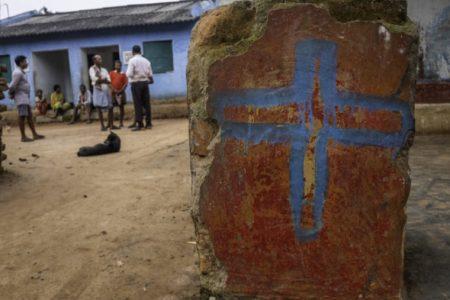 India: Hindu extremists beat Christian children during Sunday morning worship