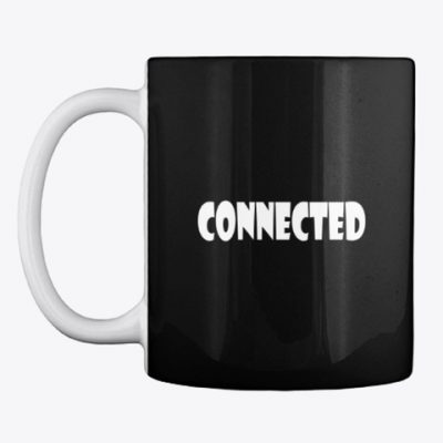spiritually connected coffee mug