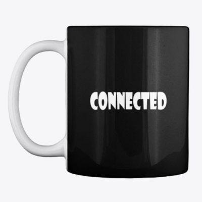 spiritually connected coffee mug