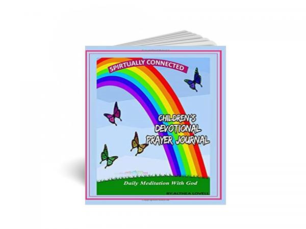children devotional prayer journal