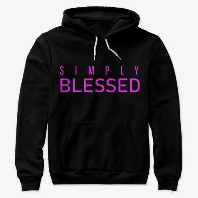 simply blessed hoodie