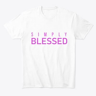 simply blessed tshirt