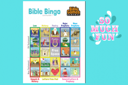 Bible Bingo –  Fun bible games online