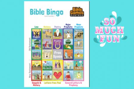 Bible Bingo –  Fun bible games online