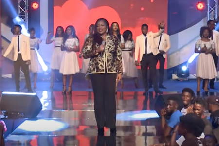 Worship song – Overflow by Sinach