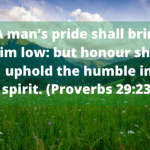 10 Bible Verses Pride and Arrogance