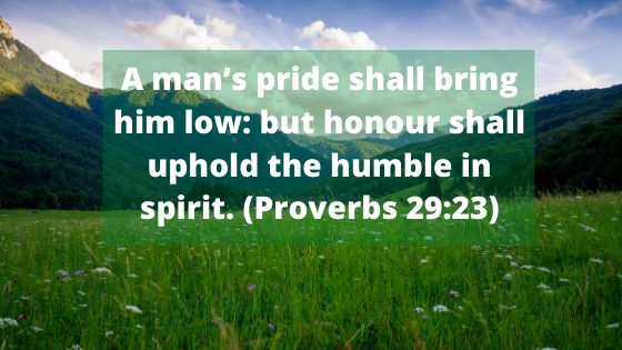 bible verses about pride and arrogance