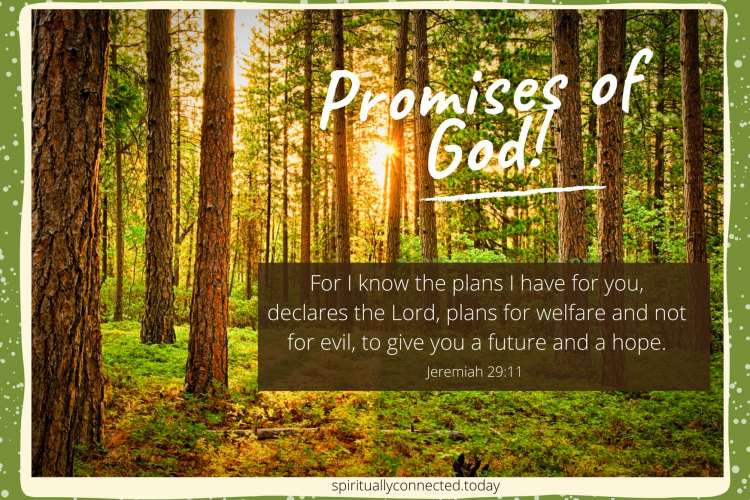 Promises of God inspirational Card